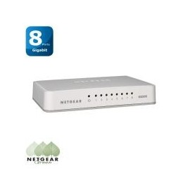 Switch Netgear 8 ports 10/100/1000 Gigabit