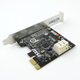CARTE PCI-E SATA6