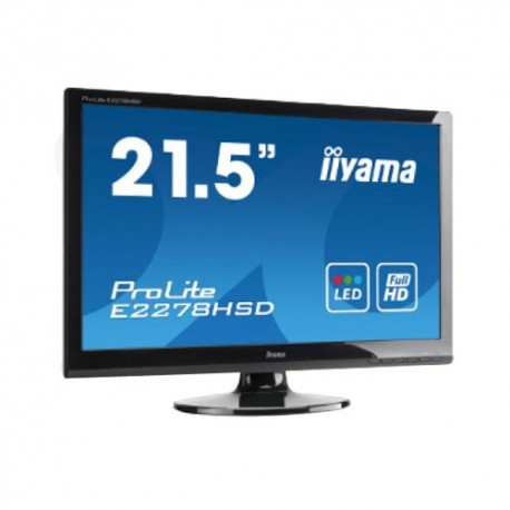 "Moniteur iiyama 21.5"" LCD ProLite E2008HDS-B"