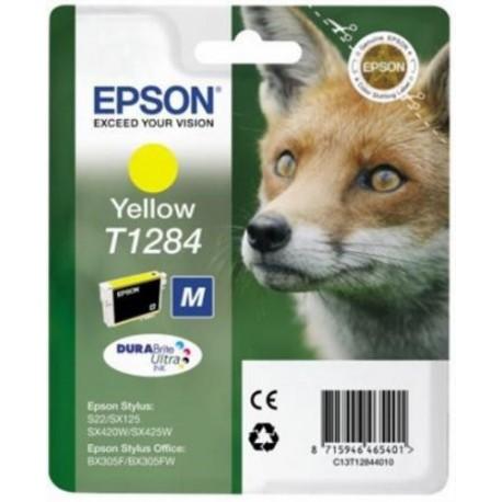 Epson Jaune T1284 Renard