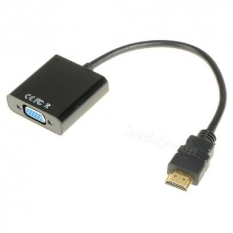 Adaptateur HDMI M / VGA F