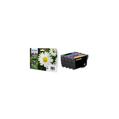 Epson multipack Noir, Cyan, Magenta, Jaune T1806 Paquerette