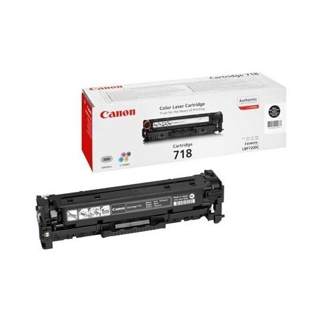 Toner Canon 718 Noir
