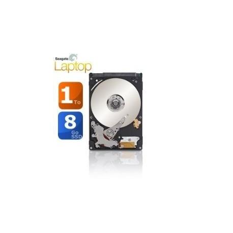 "Disque dur hybride interne 2.5"" Seagate 1To 1000Go 64Mo cache + 8Go SSD"