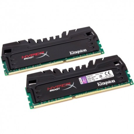Mémoire DDR3 2400 Mhz 8 Go (2x4Go) Kingston HyperX