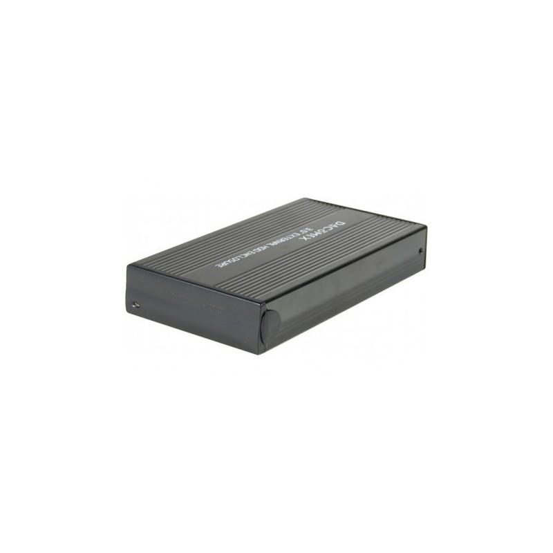 boitier 3 5 usb 2 pour disque dur pata ide ou sata. Black Bedroom Furniture Sets. Home Design Ideas