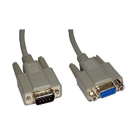 Cable rallonge DB9 RS232 M/F 5m