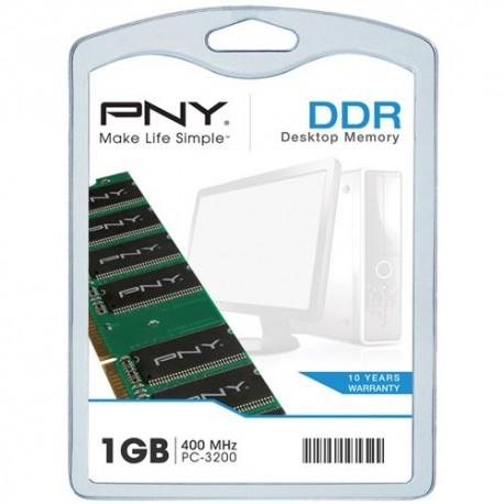 Mémoire DDR 400 Mhz 1 Go PNY PC3200