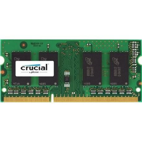 Mémoire So-Dimm DDR3L LOW VOLTAGE 1.35V 1333 Mhz 4 Go Crucial