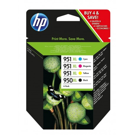 HP Pack 950 XL + 951 XL (4 cartouches)