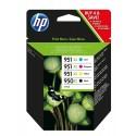 HP Pack 950 XL + 951 XL (4 cartouches XL)