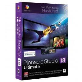 Logiciel Pinnacle Studio 18 Ultimate