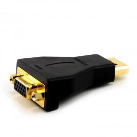Adaptateur monobloc DisplayPort M vers VGA F