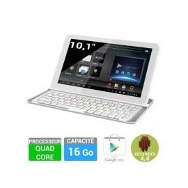 Tablette tactile Polaroid Platinium 10,1 16Go + Clavier Bluetooth