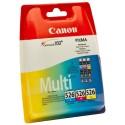 Canon 526 Multipack Cyan + Magenta + Jaune CLI-526C CLI-526M CLI-526Y