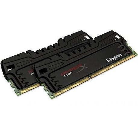 Mémoire DDR3 2400 Mhz 16 Go (2x8Go) Kingston HyperX Beast