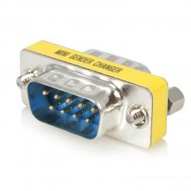 Adaptateur changeur de genre DB9 RS232 M/M
