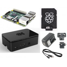 Barebone Raspberry Pi 2 Quad Core Starter Kit