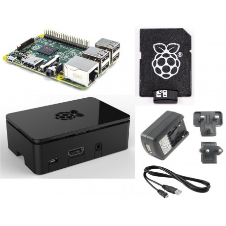 Barebone Raspberry Pi 2 Quad Core Starter Kit