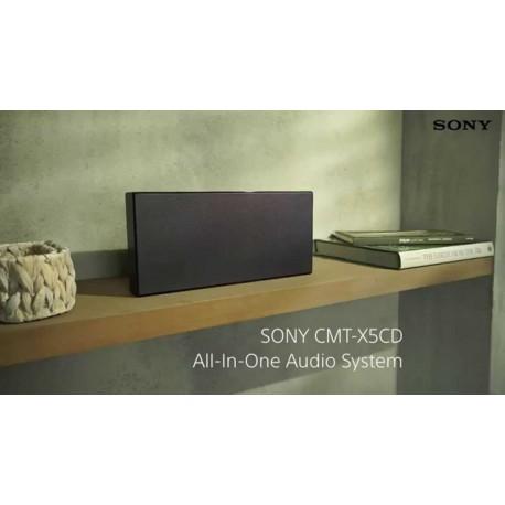 Micro-chaîne HiFi Sony CMT-X5CD Noir