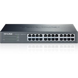 SWITCH TP-LINK 24 PORTS RJ45 GIGABIT 10/100/1000M RACKABLE
