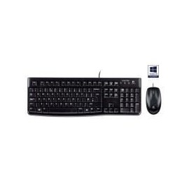 Kit clavier/souris filaire Logitech MK120