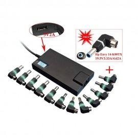 Alimentation universelle pour Notebook 90W 13 Connecteurs + USB 2A