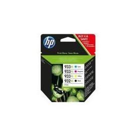 HP 932XL 933XL Multipack 932 XL Noir + 933 XL Couleur