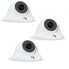 Lot de 3 caméras IP wifi intérieures Ubiquiti UniFi UVC-Dome
