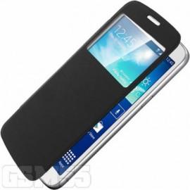 Housse Etui Folio S-View - Noir pour Samsung Galaxy Grand 2
