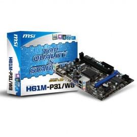Carte mère MSI H61M-P31/W8 Intel Micro ATX LGA 1155