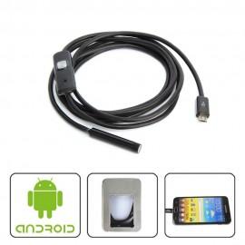 Endoscope pour téléphone Androïd OTG
