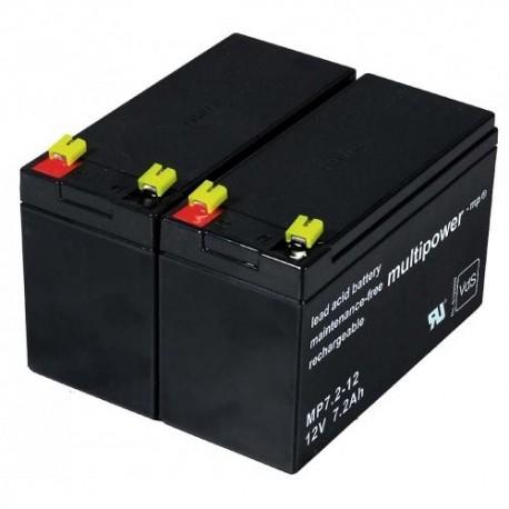 Batterie pour USV APC Back-UPS RS1500, 12V, Lead-Acid (Batterie au plomb)