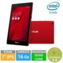Tablette tactile Asus Zenpad Z170C 7'' 16Go Rouge