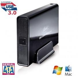 """Boitier 3,5"""" USB 3.0 Advance QuickDisk BX-306U3BK pour disque dur SATA"""