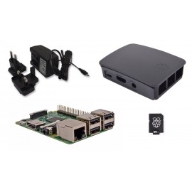Barebone Raspberry Pi 3 Quad Core Starter Kit 16 GB