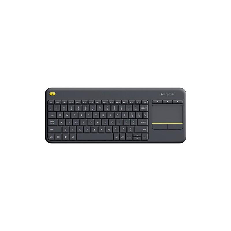 clavier sans fil logitech k400 plus cpc informatique. Black Bedroom Furniture Sets. Home Design Ideas