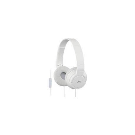 Casque JVC HA-SR-185E Casque audio pliable blanc avec micro