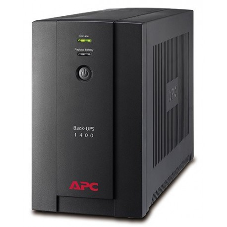 Onduleur line-interactive APC BX1400U-FR Onduleur Back UPS BX 1400 VA Prises FR
