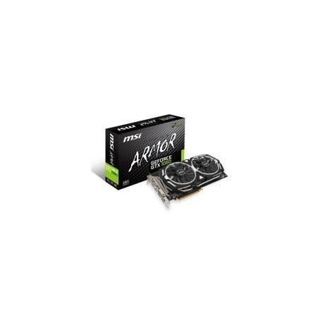 Carte graphique MSI NVIDIA GeForce GTX 1060 ARMOR 6G OC 6Go GDDR5