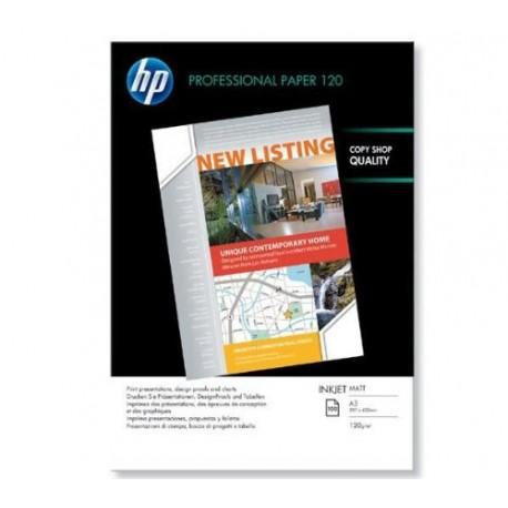 Papier photo HP Professional 120 Mat A3