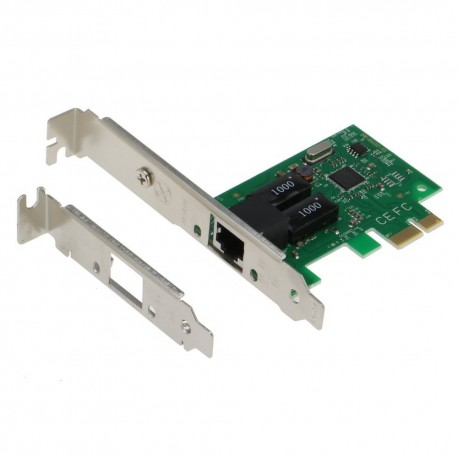 Carte réseau Gigabit PCI-Express 1x LP Low Profile