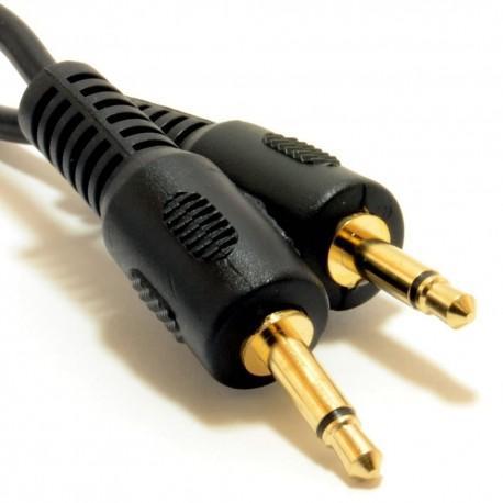 Cable jack 3.5mm M/M 2m mono