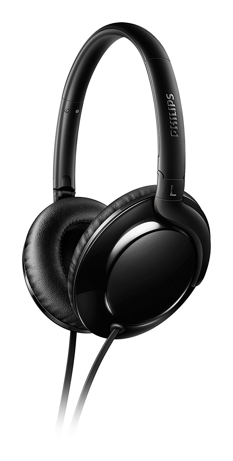 Casque Audio Philips Shl4600bk00 à Arceau Ultra Léger Pliable Cpc