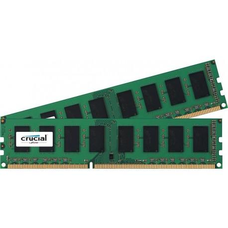 Mémoire DDR3L 1600 Mhz 16 Go (2x8Go) Crucial