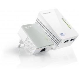 TP-Link TL-WPA4220KIT adaptateurs CPL Wifi AV500 (1 TL-WPA4220 + 1 TL-PA4010)