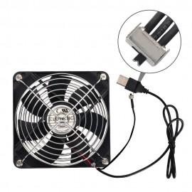 Ventilateur de 120 mm USB Fan silencieux avec commande de vitesse