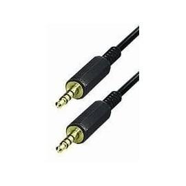 Cable jack 3.5mm 4 pôles M/M 1m