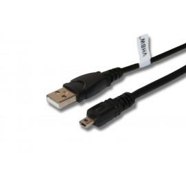 Câble USB 8pin pour OLYMPUS VG-160, VG-170, VH-210, VR-325, VR-330, VR-340, VR-350, VR-360, NIKON Coolpix S2600
