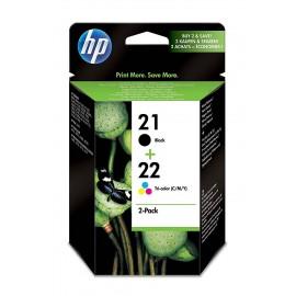 HP 21 + 22 Pack Noir + Couleur